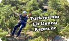 Türkiye'nin En Uzun Zıpline Kulesi Antalya'da Faaliyete Geçti.