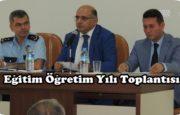 Yeni Eğitim Öğretim Yılı Toplantısı Kepez'de Yapıldı.