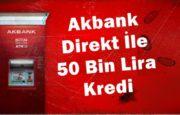 Akbank Güncel Kredi Faizleri, Kredi Hesaplama