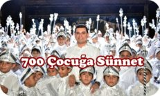 Kepez'de 700 Çocuğa Sünnet