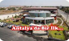 Antalya'nın İlk Ekolojik Kreşi Hizmete Girdi.
