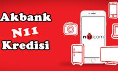 Akbank Direkt İle N11 Anında Alışveriş Kredisi