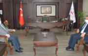 Antalya Valisi Ersin Yazıcı, Kepez Kaymakamlığına Ziyarette Bulundu